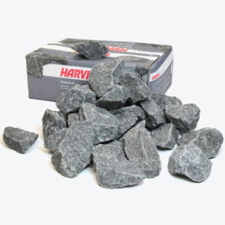 Камни габбро-диабаз 20 кг крупные Harvia