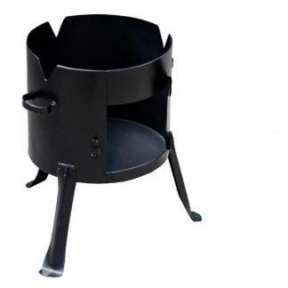 Печь под казан 340 мм. (под казан 8-10 л.) сталь 2 мм