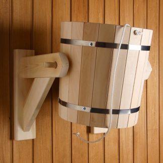 Обливное устройство 18 л с пластиковой вставкой (липа)