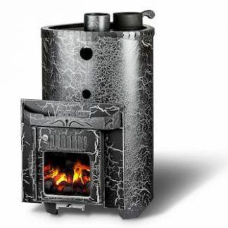 Дровяная банная печь Feringer Малютка цельный тоннель ( до 16 м3)