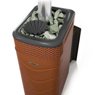 Дровяная банная печь TMF Гейзер XXL 2017 Carbon