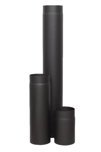 Дымоход Ф 120 L-0,5м черная сталь 2мм КПД