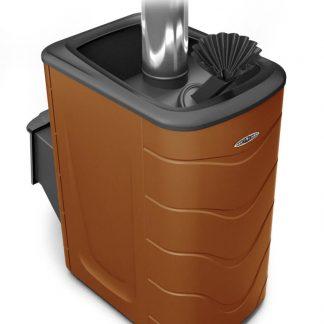Дровяная банная печь TMF Гейзер 2014 Carbon
