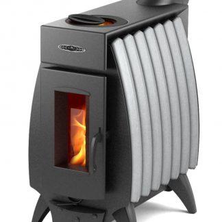 Печь отопительная Термофор Огонь батарея 7 (Серый металлик) 150м3