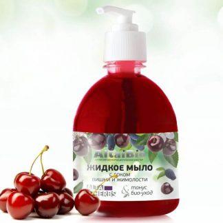 Altai Bio Жидкое мыло «Вишня-жимолость»