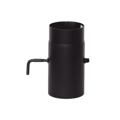 Шибер Ф 150 L-0,5м черная сталь 2мм КПД