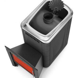 Дровяная банная печь TMF Ангара 2012 Carbon