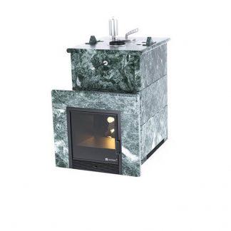 Дровяная банная печь Easysteam «Анапа» в полноценном кожухе ЗМЕЕВИК