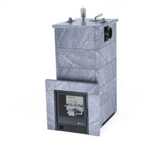 Печь газовая Easysteam «Геленджик» в полноценном кожухе с боковым подключением