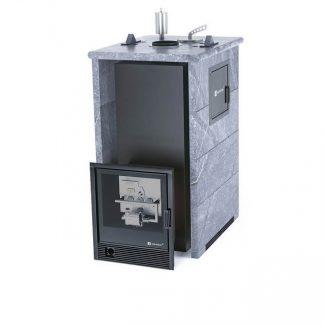 Печь газовая Easysteam «Геленджик» М2 в трехстороннем кожухе