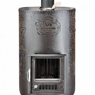 Дровяная банная печь Feringer Уют-25 в кожухе