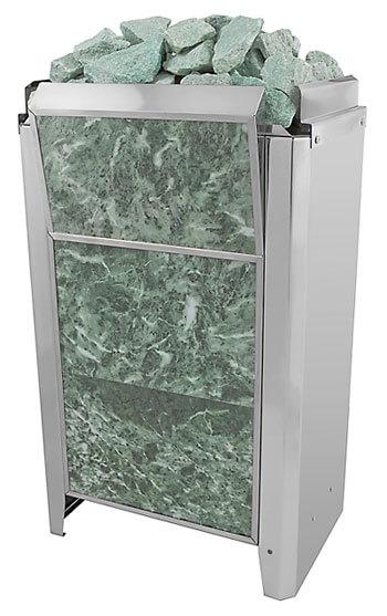 Электрическая банная печь Kristina Classic Stone (в облицовке змеевик) 6кВт