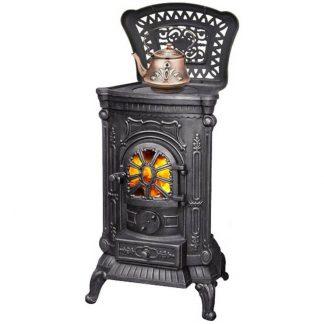 Печь-камин чугунная AMBRA