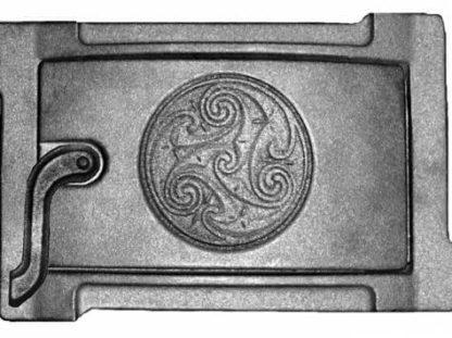 Дверка поддувальная уплотненная краш. ДПУ-2Б (Р) 250Х140