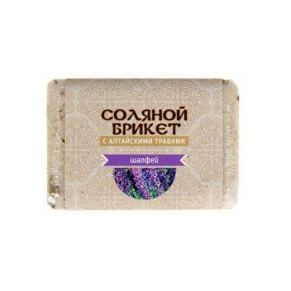 """Соляной брикет """"Шалфей"""" 1,35 кг."""