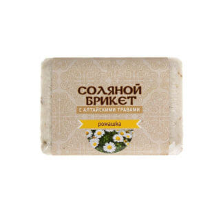 """Соляной брикет """"Ромашка"""" 1,35кг."""