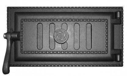 Дверка поддувальная уплотненная краш.ДПУ-3 (Р) 290Х140
