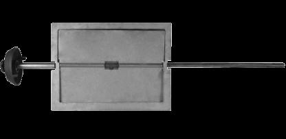 Задвижка поворотная ЗВП-6 (Р) 385х260х1030