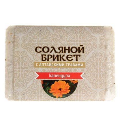 """Соляной брикет """"Календула"""" 1,35 кг."""