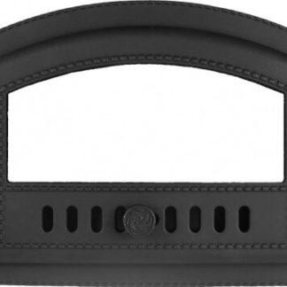 """Дверка топочная гермет.ДКГ-10С (Р) """"Каравай"""" со стеклом 410х270х65"""