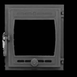 "Дверка топочная гермет.ДТГ-8БС (Р) ""Кижи 2"" со стеклом 295х325"