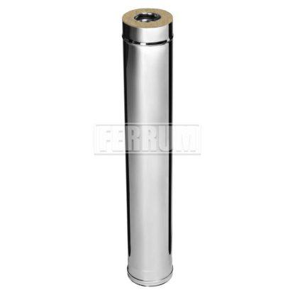 Сэндвич ф110/200 L-1,0м (430/0,8мм +оц) Ferrum