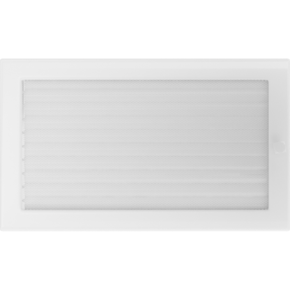 Решетка вентиляционная Белая без жалюзи 17х30